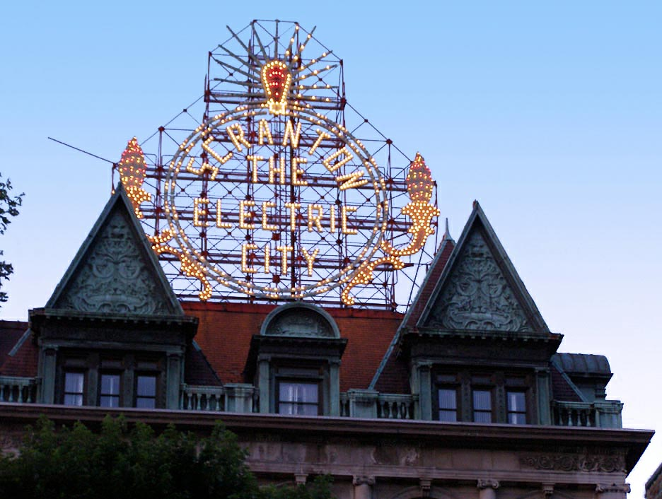 picture of scranton landmark