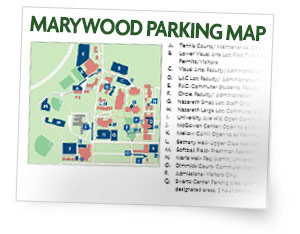 Campus Parking Map