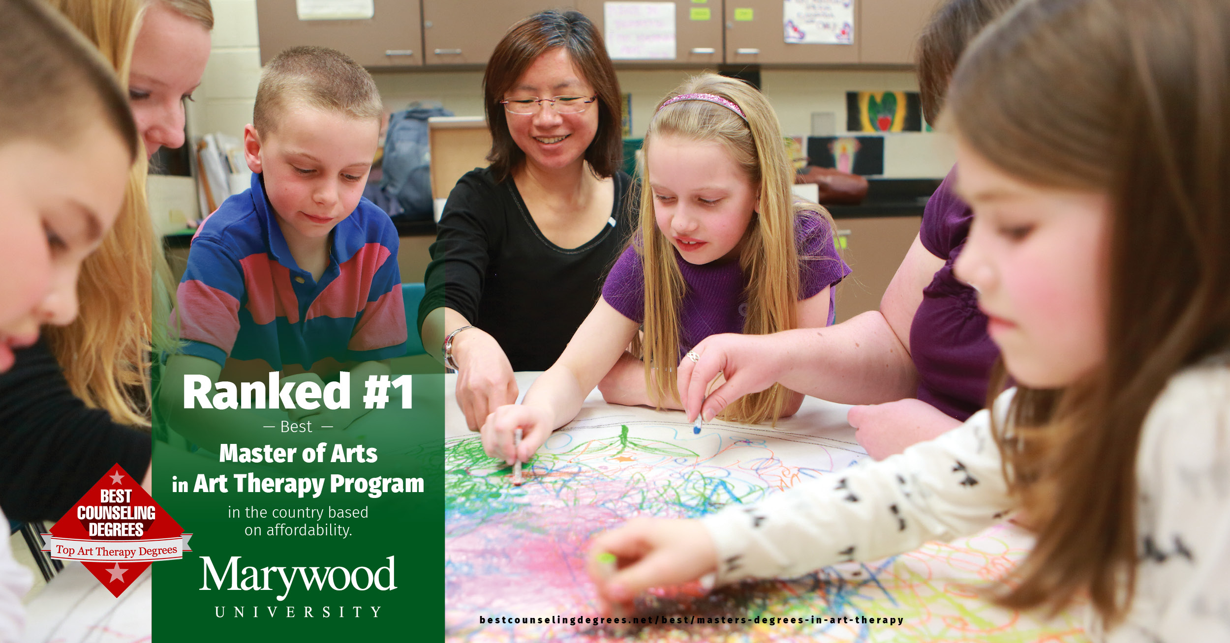 Marywood's Grad Art Therapy Program Ranked #!