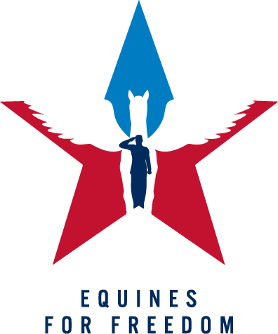 Equines for Freedom crest