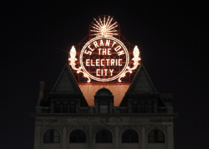 scranton electric city sign by Mark Leuthi