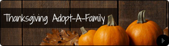 Thanksgiving Adopt-A-Family