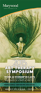 2015 Art Therapy Symposium - Program Brochure