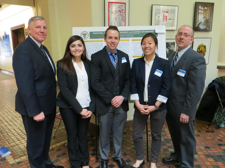 Marywood Students Presented Research at State Capitol