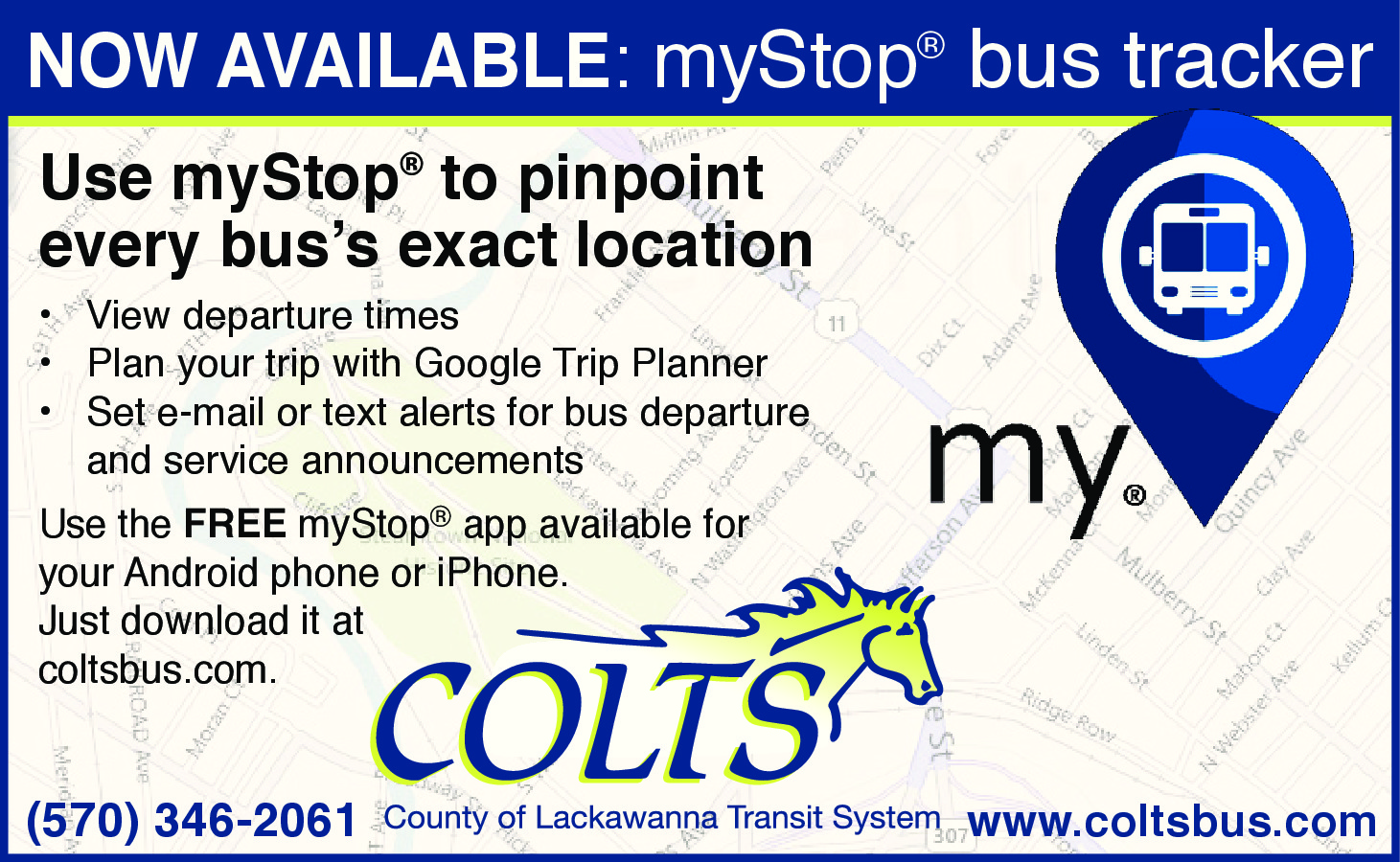 myStop second version